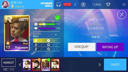 SuperStar JYPNATION APK screenshot thumbnail 16