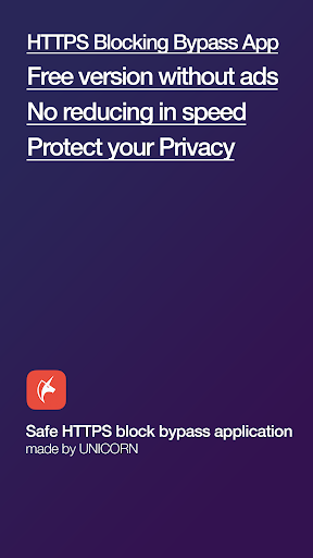 Unicorn HTTPS: Bypassing SNI-based HTTPS Filtering 1.1.30 screenshots 1