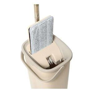 Sistem de curatare Sillgech Flat Mop, mop pliabil cu galeata