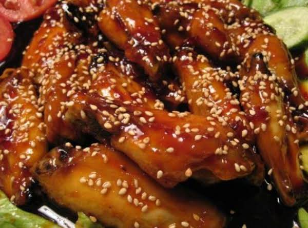 Bbq Sesame Chicken Wings