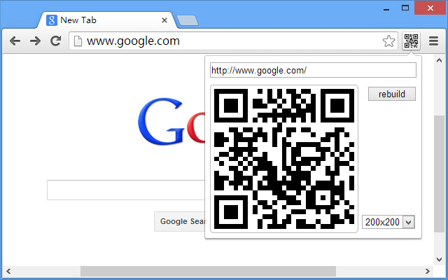 Browser to Phone(by QRCode)