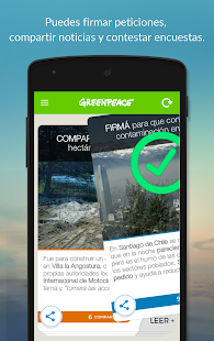 Greenpeace Apptivista- screenshot thumbnail
