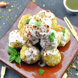 Faraali Dahi Vade(Aloo& Sago Vade) Made in Appe Pan Recipe