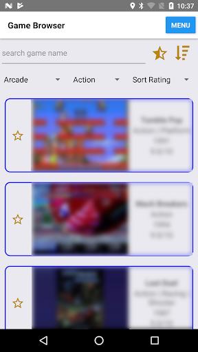 Retro Game Center (enjoy classic/emulation games) filehippodl screenshot 1