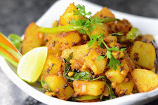 Sweet Potato Dry Curry