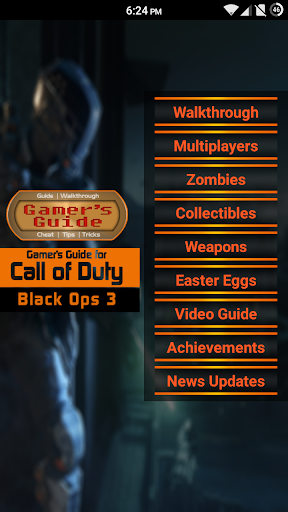 Guide for CoD Black Ops 3