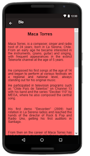 Maca Torres Songs+Lyrics . - náhled