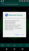 Screenshot of Bluetooth Firewall