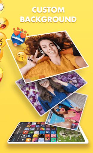 Smiley Emoji Keyboard 2018 - Cute Emoticons 1.2.0 Screenshots 2