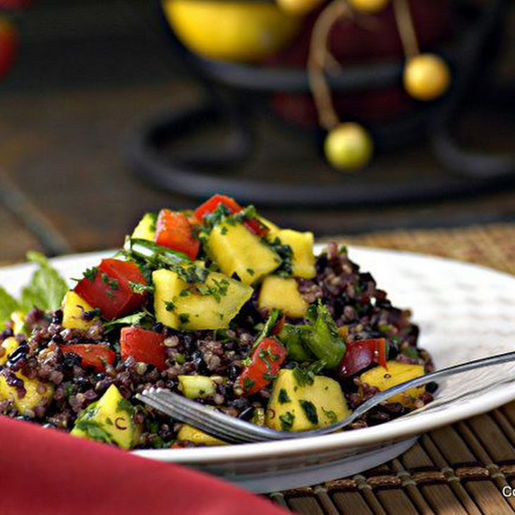Thai Black Rice & Quinoa Salad