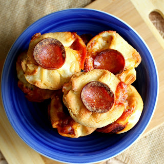 Pizza Bombs (gluten free egg free dairy free option).