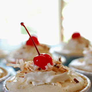 National Pina Colada Day - Pina Colada Frozen Mini Pies
