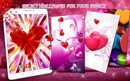 Hearts Live Wallpaper - Android Apps on Google Play