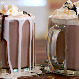 Salted Caramel Hot Chocolate Cocktail Video