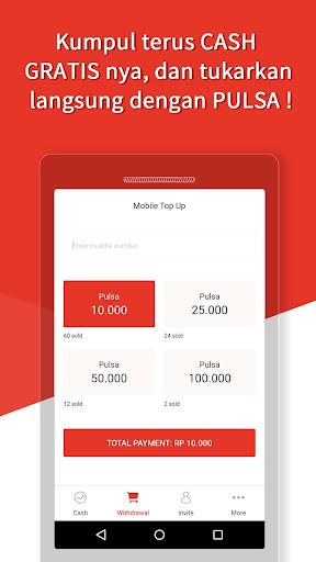 Money Locker:Cash Pulsa Gratis Apps (apk) free download for Android/PC/Windows screenshot