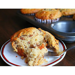 Banana Muffins With Rum Raisins
