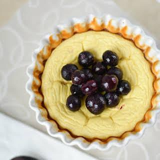 5-Ingredient Custard Cheesecake.
