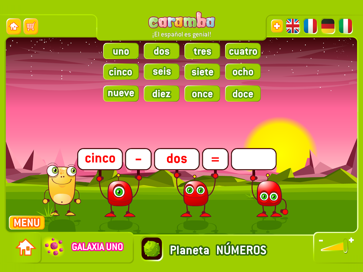 Caramba Spanish- screenshot