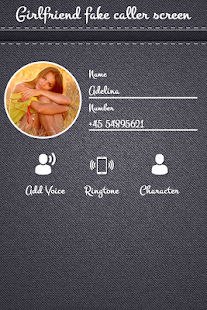 Girl Friend Fake Caller Screen - náhled