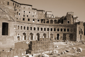 Photo: More ruins in Rome...half of the city seems to be in ruins.