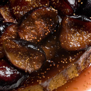 Spiced Honey Cake with Caramelized Figs