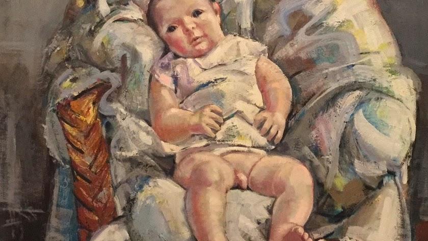Detalle de una de las obras de Pinteño seleccionadas.