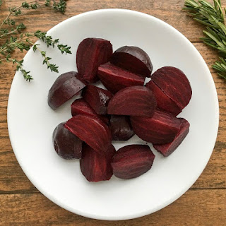 Oven Roasted Beets.