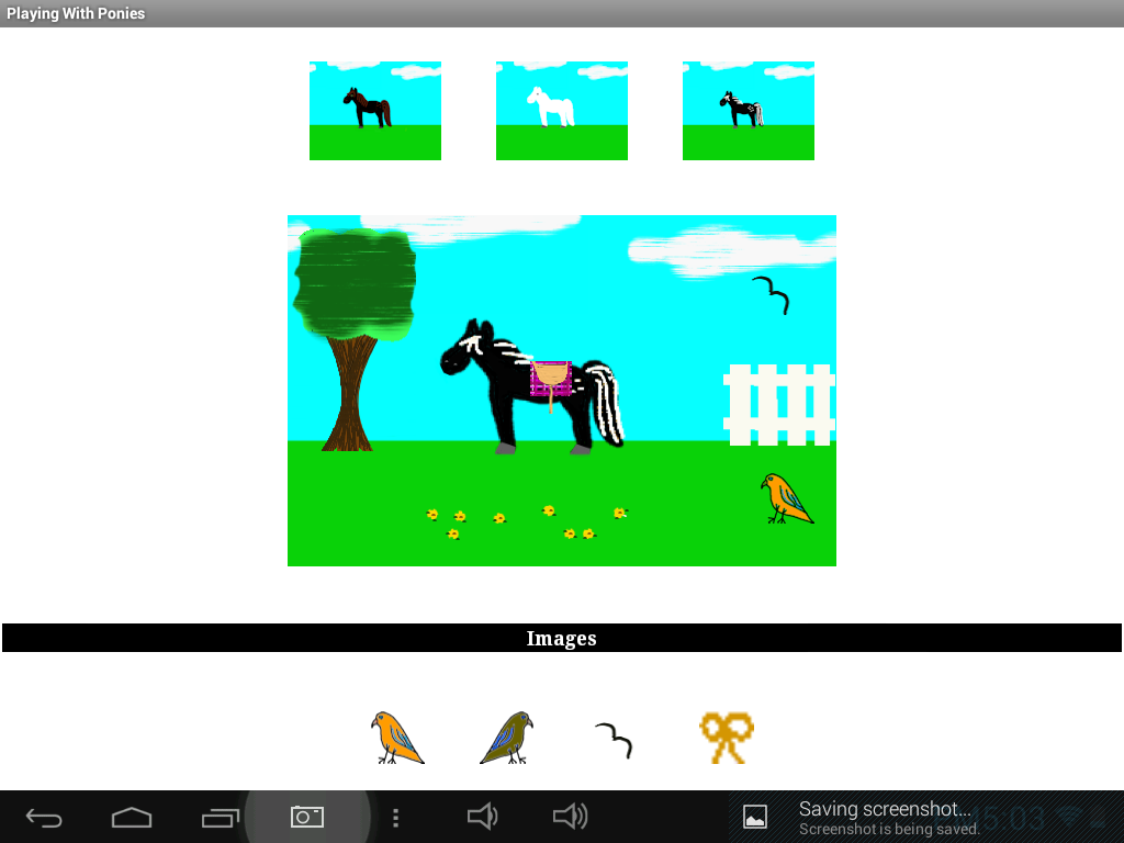 Playing With Ponies- screenshot