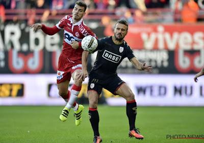 Après son prêt à Courtrai, Goutas revient en Belgique