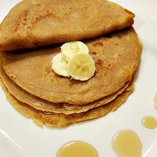 Eggless Nigerian Pancakes