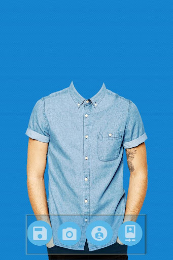 Man Short Shirt Photo Editor