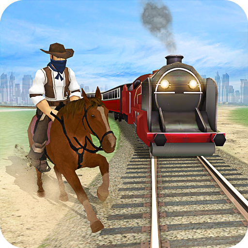Horse vs Train Racing Game 3D