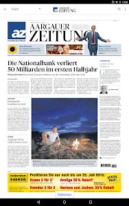 az Aargauer Zeitung E-Paper screenshot 5