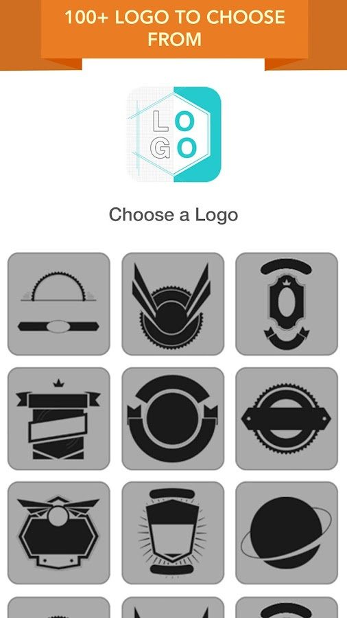 logo maker logo creator to create logo design android apps on google play