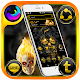 Gold Skull Launcher Theme apk