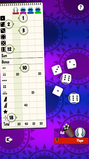 Yatzy Offline and Online - free dice game 3.2.25 screenshots 2