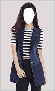 Women With Jeans Fashion Photo Editorのおすすめ画像1