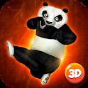 Ninja Panda Fighting 3D icon