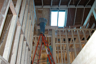 Photo: February 2005 - Month 18: Framing the 3rd floor