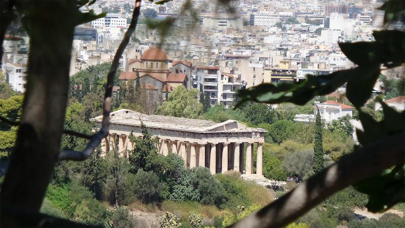 Scorcio antico ad Atene di Silvia1990