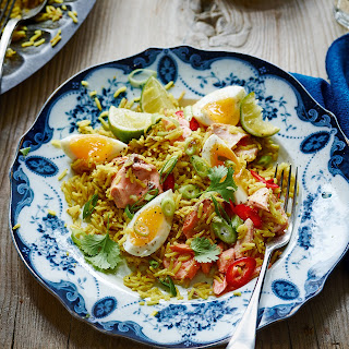 Salmon and Egg Kedgeree Recipe