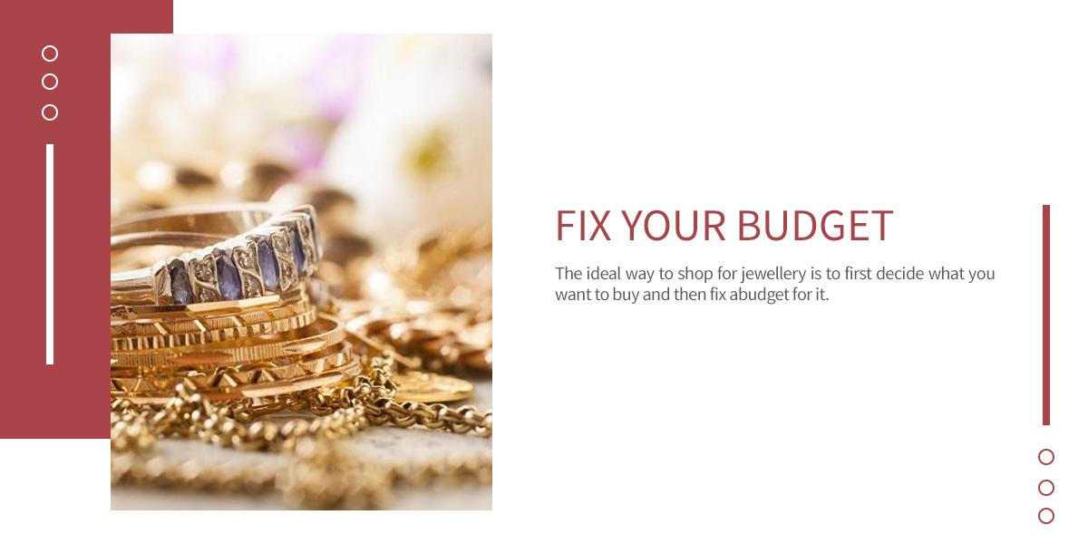 fixed your budget before purchasing diamond jewellery