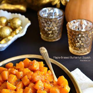 Maple-Braised Butternut Squash.