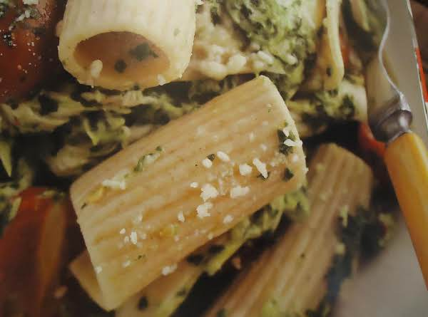 This Dish Was Made With Pesto.
