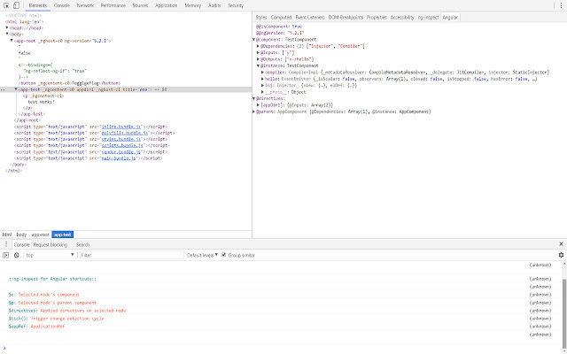ng-inspect for Angular(1.x/4+/Ivy)