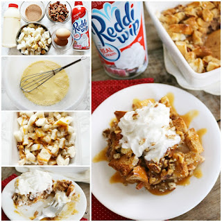 Caramel Pecan Bread Pudding with a Surprise Twist! Recipe