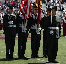 Photo: Liberty Battalion Color Guard, Military Appreciation Day