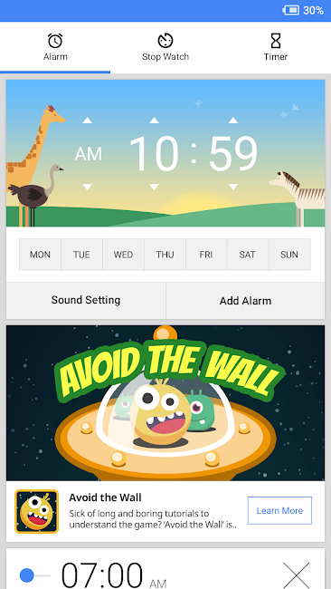#1. Savanna Alarm (Android)
