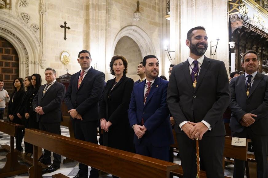 Ya en el interior de la Catedral de Almería.