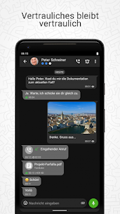 Threema Work Screenshot